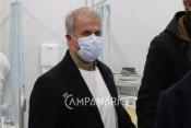 """Novo espaço do serviço de urgência Covid-19 """"poderá ter já hoje 14 doentes"""" diz Diretor do Serviço de Urgências do HESE (C/Som)"""