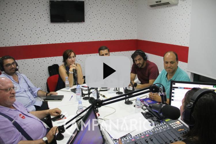 Veja em vídeo o único debate com os cabeças de lista pelo círculo político de Évora às eleições de 6 de Outubro