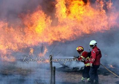Cinco concelhos alentejanos em risco máximo de incêndio e três em risco muito elevado