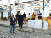 A UE e a empresa Sharish GIN oferecem 600 frascos de Gel Desinfetante à Caritas  de Évora
