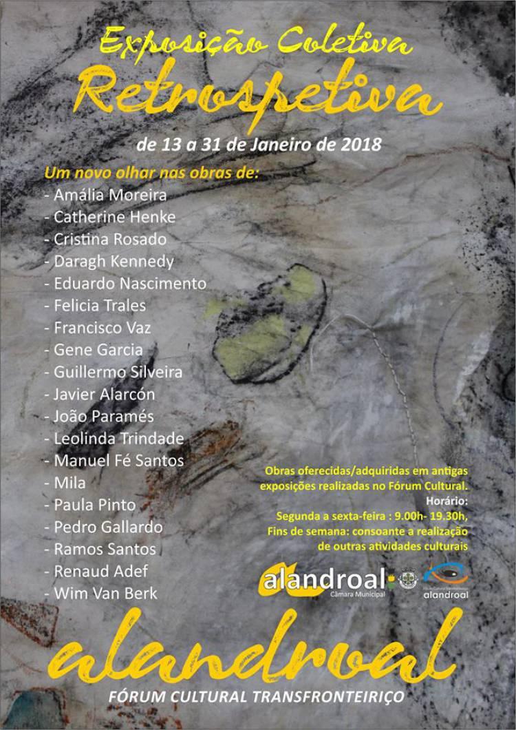 """Alandroal recebe exposição coletiva """"Restrospetiva"""""""