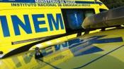 Acidente entre viatura ligeira e viatura pesada, em Reguengos,  provoca um ferido grave