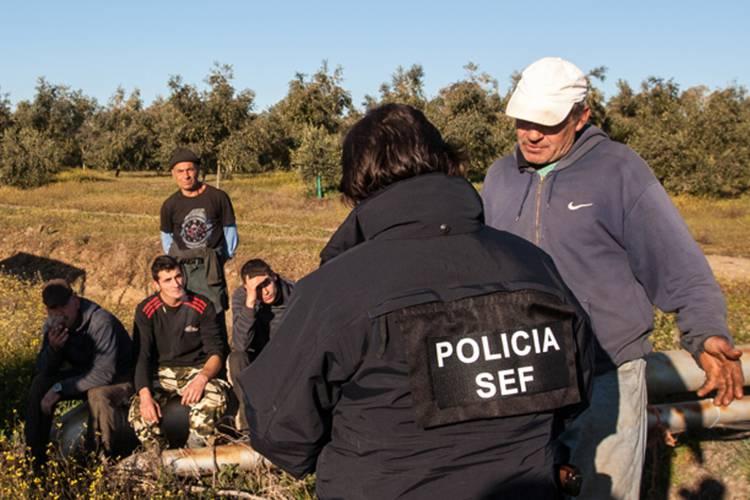 Três estrangeiros em situação irregular em Beja notificados para abandonar o país
