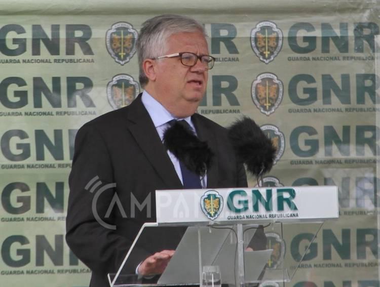 """Novo centro da GNR """"irá concentrar toda a formação inicial em Portalegre"""" em investimento de 14 milhões de euros, diz ministro (c/som)"""