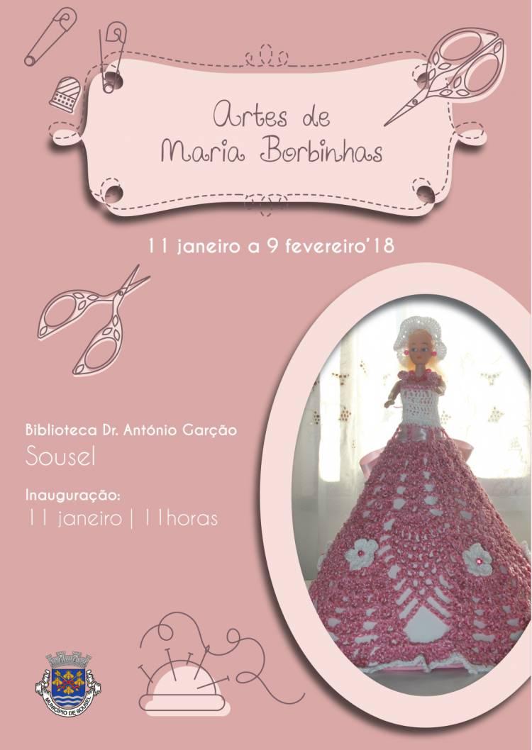 Sousel recebe exposição das artes de Maria Borbinhas