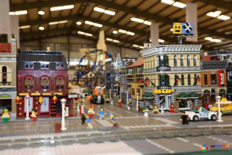 Mega exposição de Legos em Arraiolos a partir deste fim de semana