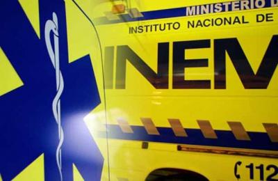 Aparatoso despiste em Beja deixa condutor inconsciente