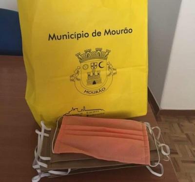 Município de Mourão distribuiu máscaras comunitárias