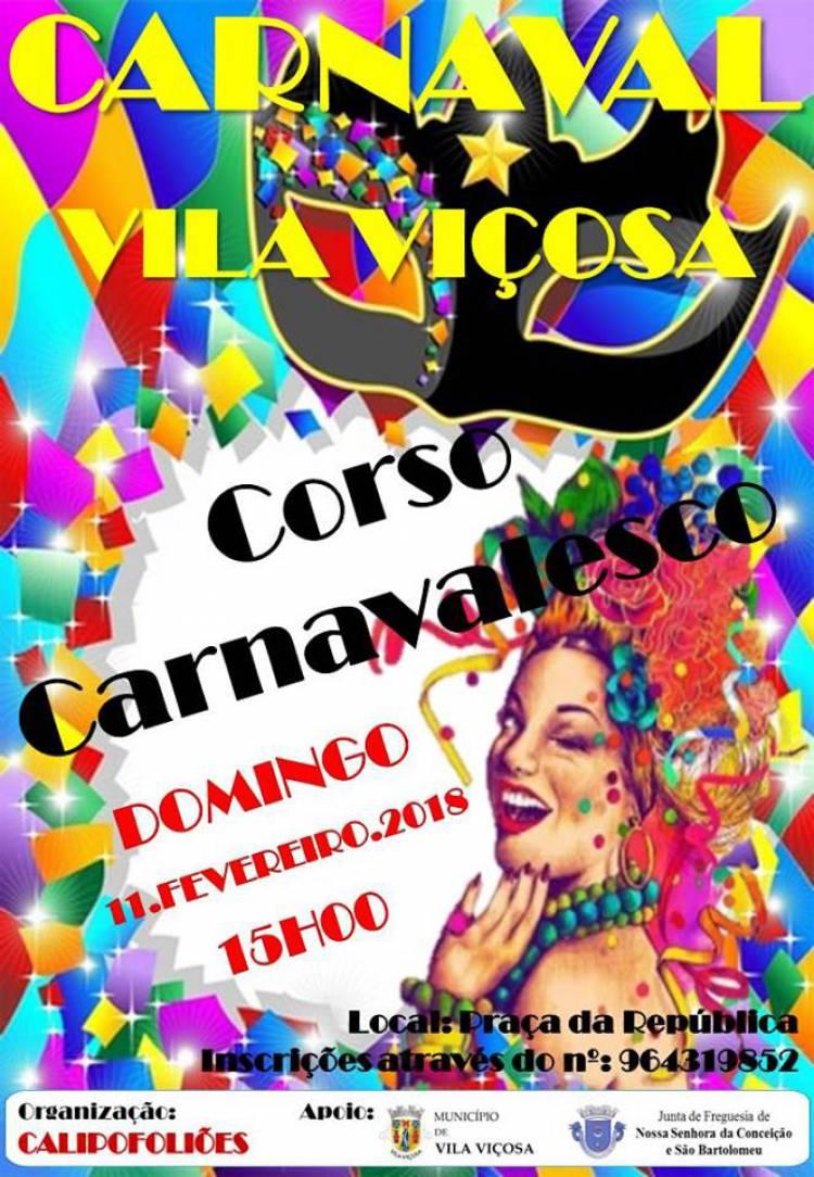 Calipofoliões voltam a promover desfile de Carnaval em Vila Viçosa