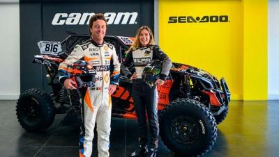 Armindo Araújo e Bia Pinto vão estar na Baja de Portalegre 500 de Can-Am