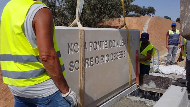 Variante à ponte do Albardão e nova ponte sobre o Rio Degébe inauguradas segunda-feira (c/fotos)