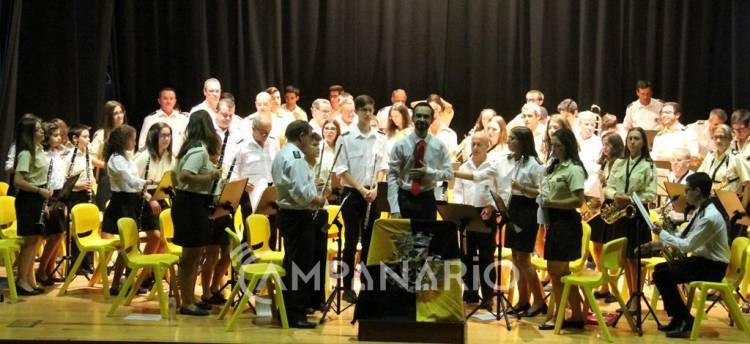 """Banda de Alandroal celebrou o Dia da Música com """"convívio entre músicos"""", diz o presidente da banda (c/som e fotos)"""