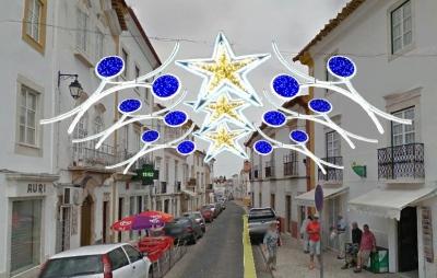 Luz, Brilho e Cor iluminam este Natal as ruas de Vila Viçosa. A RC mostra-lhe em exclusivo a primeira imagem