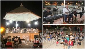 """Moura Encantada levaram ao coreto de Estremoz """"música popular com arranjos muito próprios"""". A RC mostra-lhe as fotos (c/som)"""