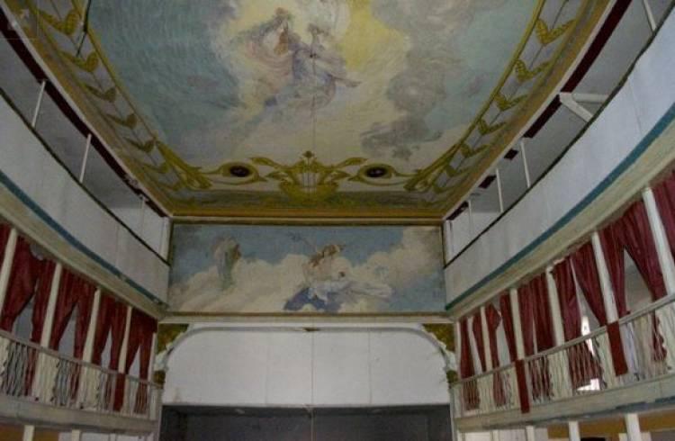 Teatro de Portalegre à venda por 350 mil euros no OLX