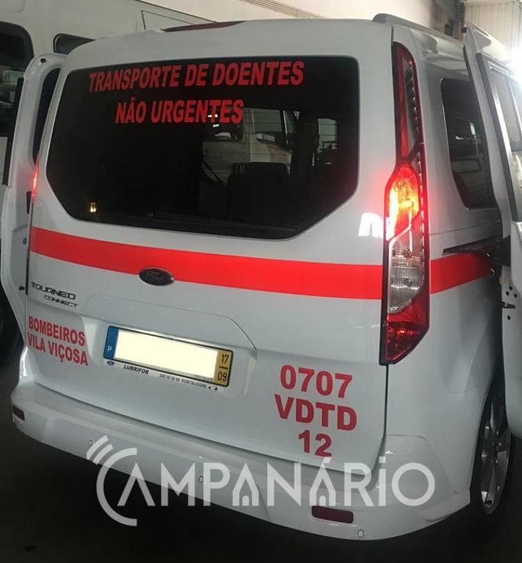 """Bombeiros de Vila Viçosa adquiriram novos veículos visando dar """"melhores condições aos doentes"""", diz Comandante Nuno Pinheiro (c/som e fotos)"""