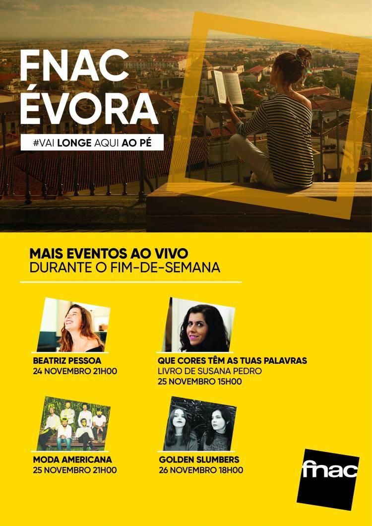 FNAC chegou a Évora e oferece  fim-de-semana com muita animação