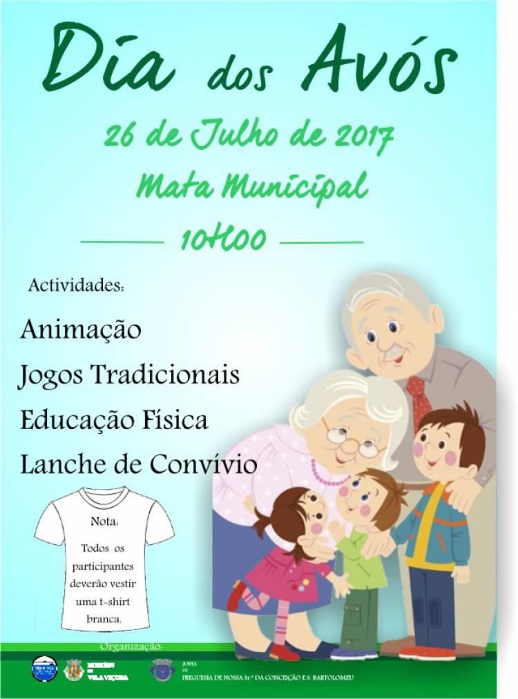 Dia dos Avós será comemorado com todas as gerações em Vila Viçosa