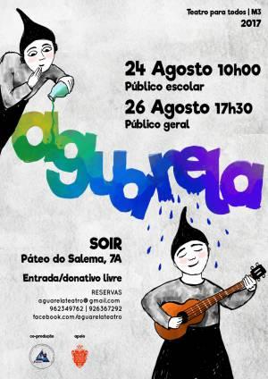 Noite de teatro em Évora com a peça Aguarela