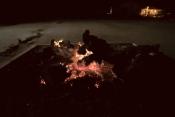 A tradição do Madeiro de Natal repete-se e em Borba já arde..