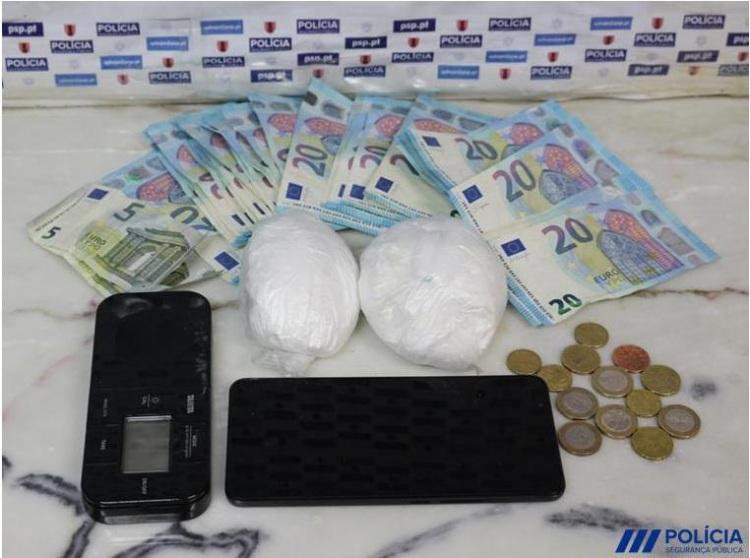 PSP de Beja deteve pessoa por tráfico de estupefacientes