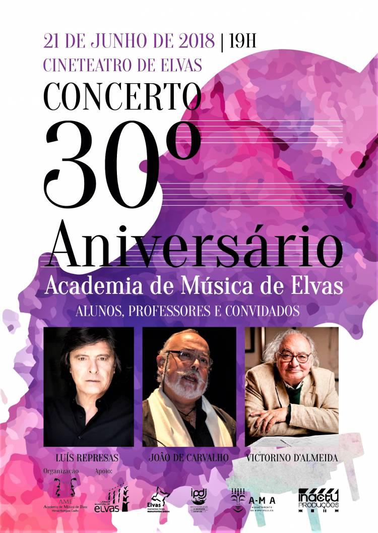 Academia de Música de Elvas comemora 30º aniversário