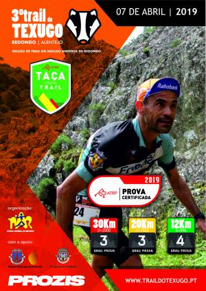 III Trail do Texugo a 7 Abril na Serra D'Ossa