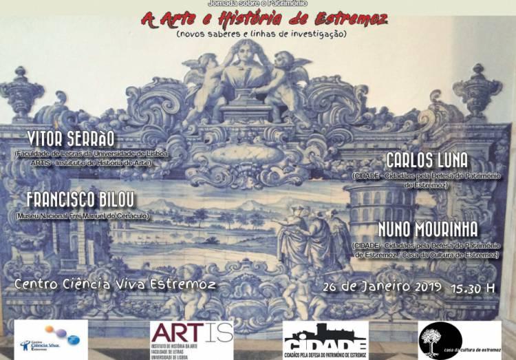 Património pictural de Estremoz em debate a 26 de janeiro