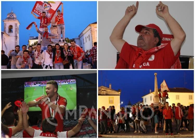Vila Viçosa festeja o título de Campeão do Benfica. A RC mostra-lhe as imagens (c/som)