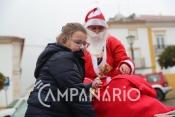 Chuva marcou a chegada do Pai Natal Motard a Vila Viçosa e impediu a participação de mais crianças (c/fotos)