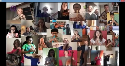 """Em confinamento, alunos de Elvas lançam vídeo """"Nós e a Orquestra Sinfónica de Roterdão"""" (c/vídeo)"""