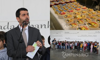 """A RC esteve presente na inauguração da Feira do Queijo em Serpa. Presidente diz que """"dá resposta às necessidades das nossas gentes e promove o território"""" (c/som)"""