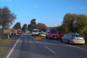 Serpa: Choque rodoviário faz quatro feridos e corta acesso a Espanha