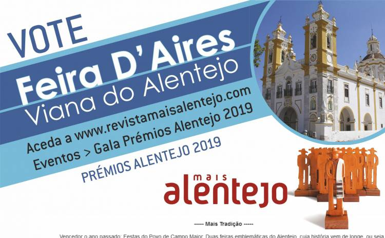Feira D'Aires nomeada para Prémios Mais Alentejo 2019