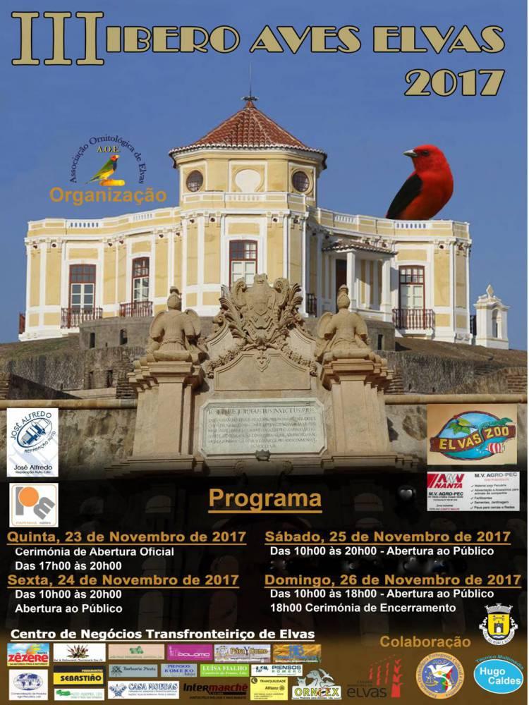 Elvas receberá 3ª edição da IberoAves