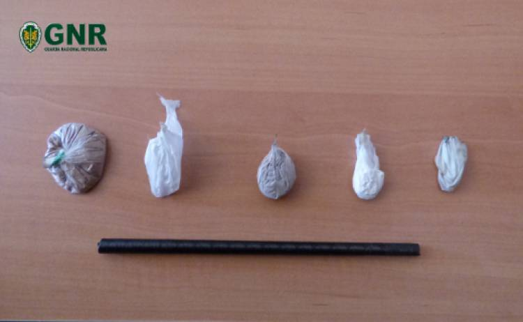 GNR detém individuo em Aljustrel por tráfico de droga