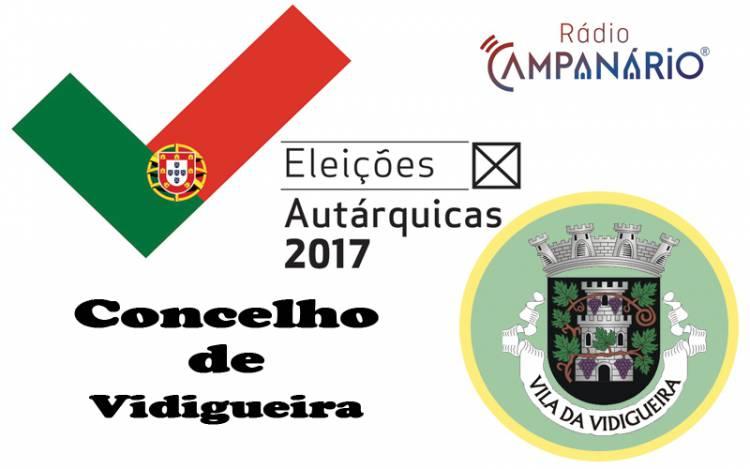 Autárquicas 2017: Os resultados eleitorais do concelho de Vidigueira (c/dados)