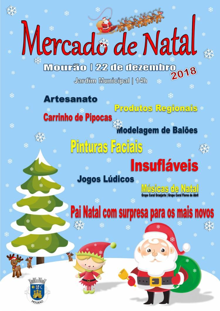 """Mourão recebe """"Mercado de Natal"""" a 22 de dezembro"""