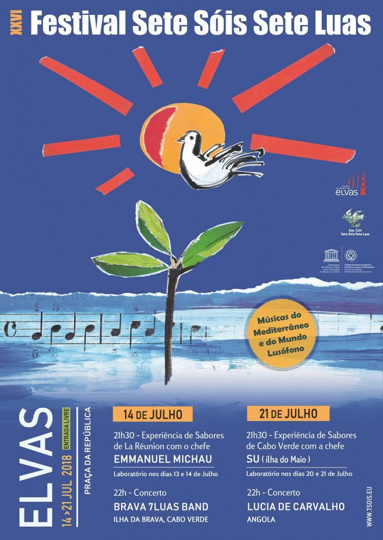 Elvas volta a receber Festival internacional Sete Sóis Sete Luas