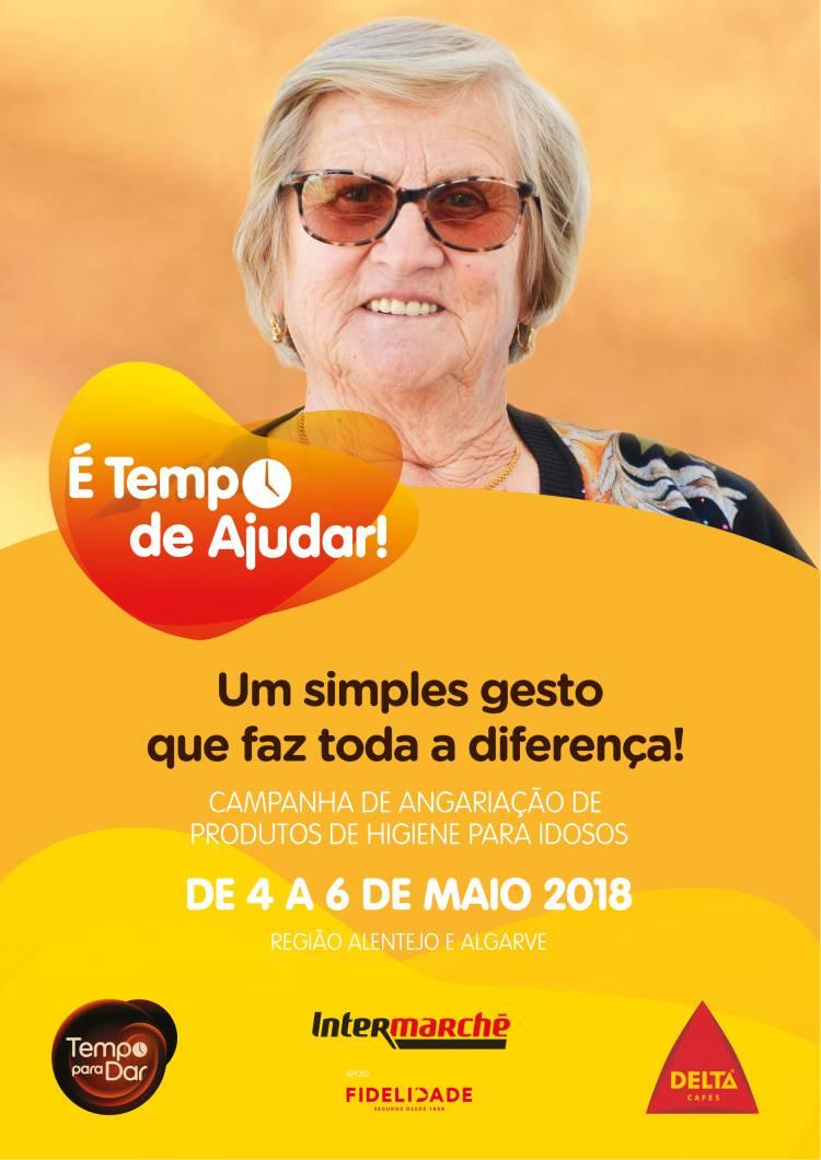 Coração Delta lança nova campanha de apoio aos idosos no Alentejo