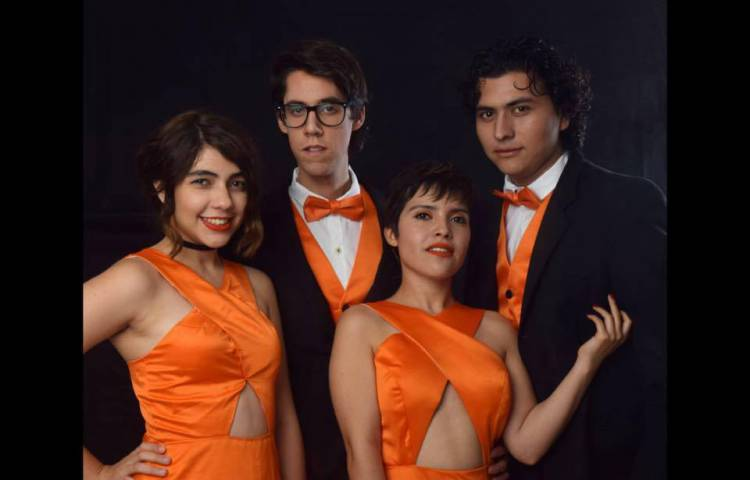 Shemesh Quarteto Vocal em Évora esta sexta-feira