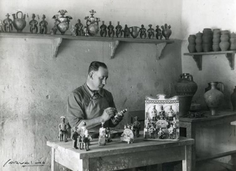 Bonecos de Estremoz do Mestre Mariano da Conceição em exposição a partir de sábado