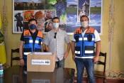COVID-19: Distribuídas mais de duas mil máscaras a instituições do concelho de Cuba