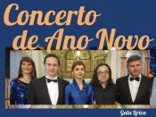 Redondo recebe Concerto de Ano Novo pelos cantores do Teatro Nacional S. Carlos