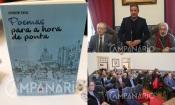 """Autor Calipolense, Joaquim Saial, apresenta a sua 5ª obra e reafirma """"disponibilidade para ajudar a autarquia sempre que me pedirem"""" (c/som e fotos)"""