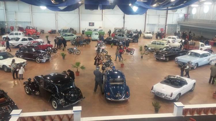 Estremoz com exposição de veículos clássicos em fevereiro