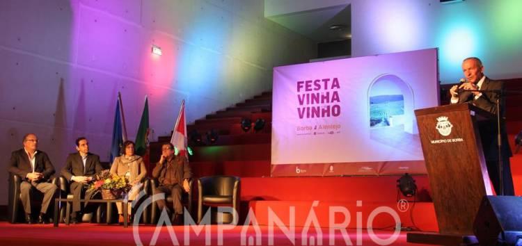 """Festa da Vinha e do Vinho é uma aposta contínua """"naquilo que há de bom"""" no concelho de Borba, diz António Anselmo (c/som e fotos)"""