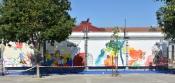 """Mural """"A Liberdade em Estado de Emergência"""" na Praça 1.º de Maio (c/fotos)"""