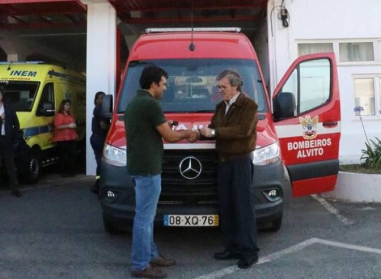 União de Cooperativas Agrícolas do Sul oferece ambulância aos Bombeiros Voluntários de Alvito