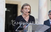 """UÉ: """"Vamos ter um conjunto de formações para melhorar o modo de vida das pessoas e para estarmos precavidos"""", diz Ana Costa Freitas (c/som)"""